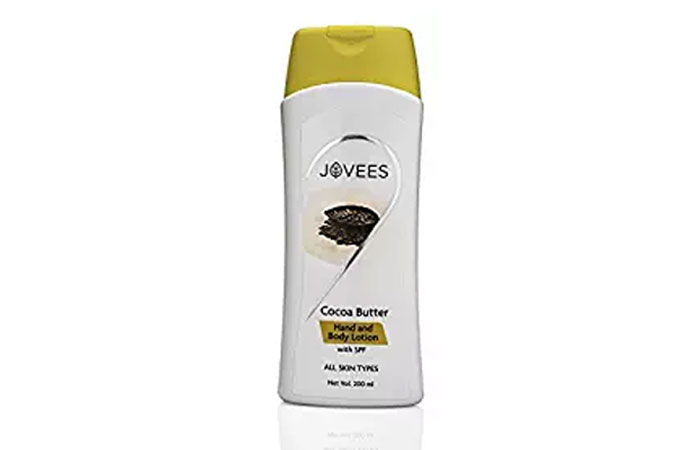 5. Jovees Cocoa Butter Hand Lotion
