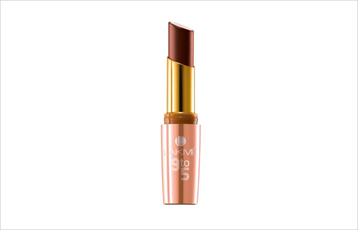 Lakme 9 to 5 Lip Color – Coffee Command