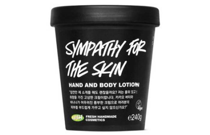 5. Lush Cosmetics Sympathy For The Skin Body Lotion