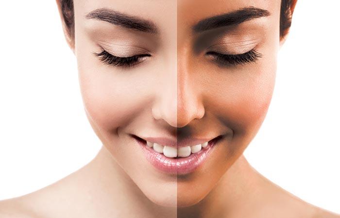 6. De-tans Your Skin