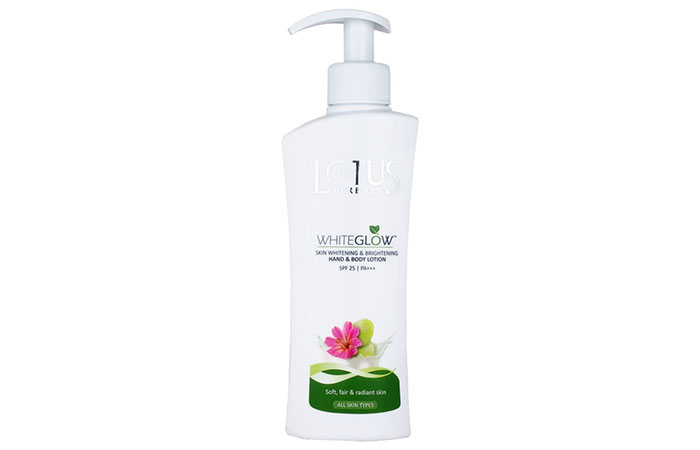 Best Hand Moisturizing Lotions - Lotus Herbals WhiteGlow Brightening Hand Lotion
