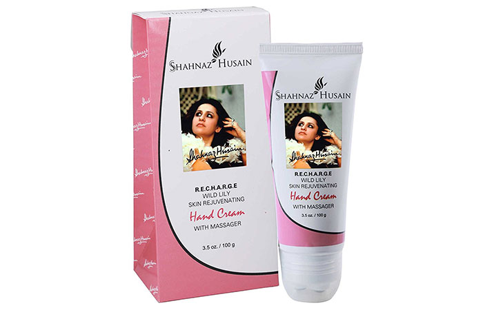 7. Shahnaz Husain Wild Lily Hand Cream