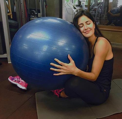 Katrina Kaif at Gym