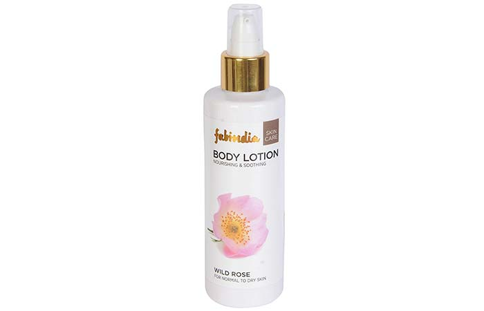 Body Lotions For Dry Skin - Fabindia Wild Rose Body Lotion