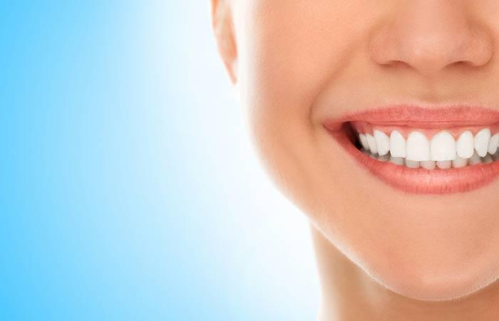 8. Improves Oral Health