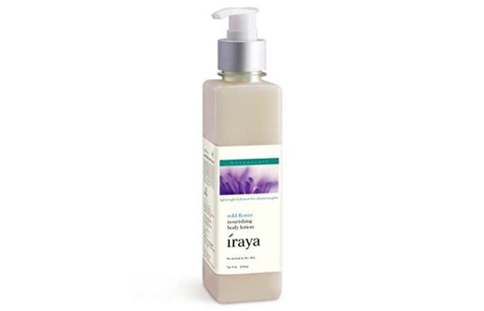 Body Lotions For Dry Skin - Iraya Wild Flower Nourishing Body Lotion