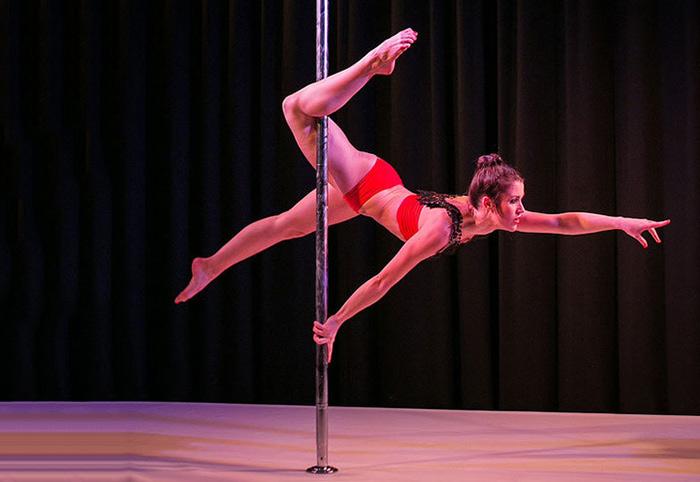 9. Pole Dancing