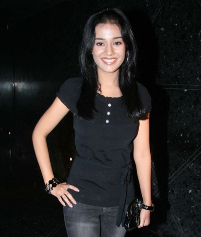 Amrita Rao is a young Indian Bollywood