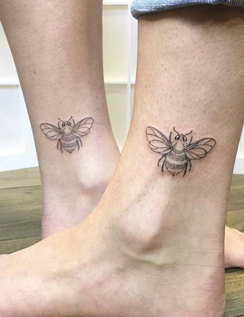 Bee On The Ankle