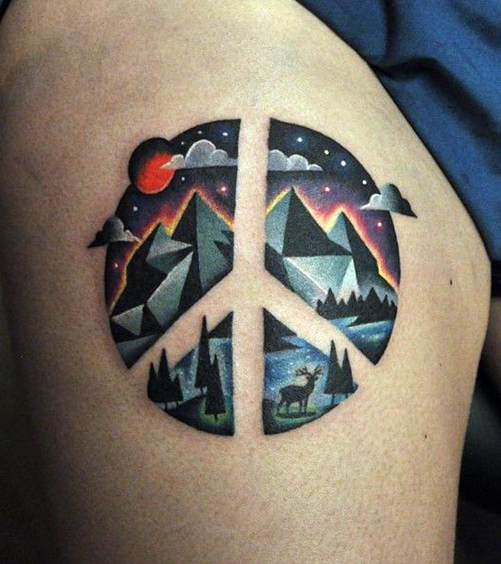 Best peace tattoo designs our top 10 for Top 10 designs