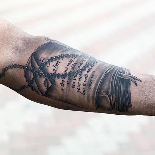 Bible Verse Tattoo Arm Best Tattoo Ideas