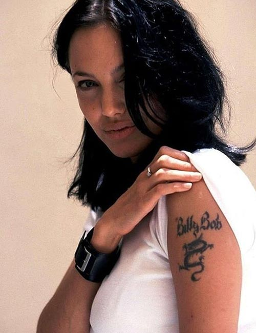 Angelina Jolie's Tattoo - Billy Bob