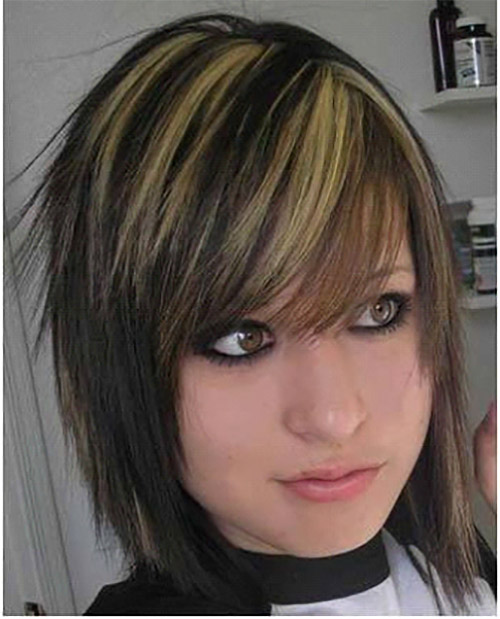 Stupendous Top 50 Emo Hairstyles For Girls Short Hairstyles Gunalazisus
