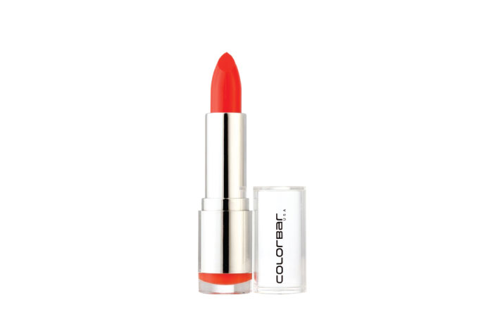 Colorbar Velvet Matte Lipstick in Obsessed Orange