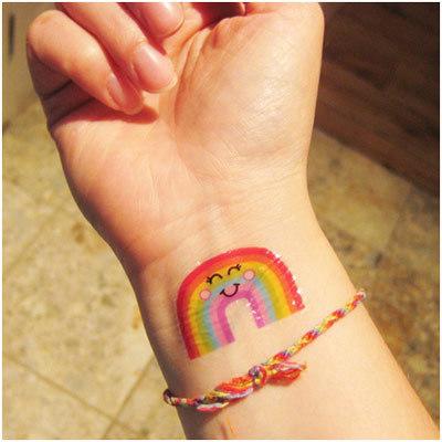 Colourful Nature Tattoo Designs