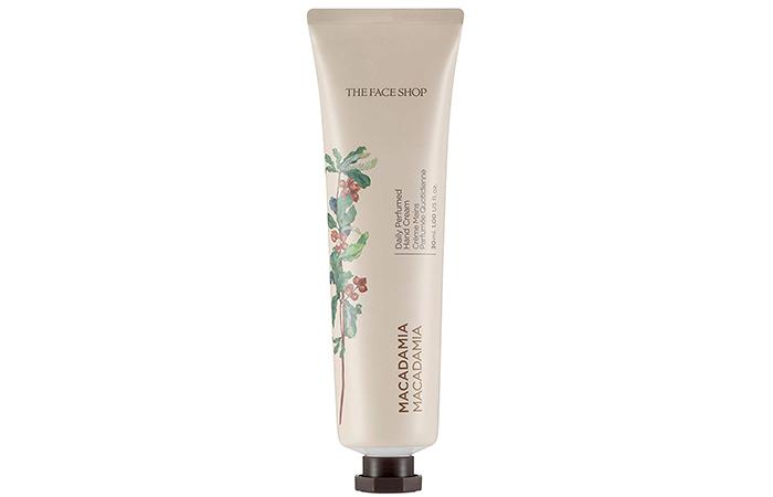 Face Shop Daily Perfumed Hand Cream - Macadamia - Hand Creams