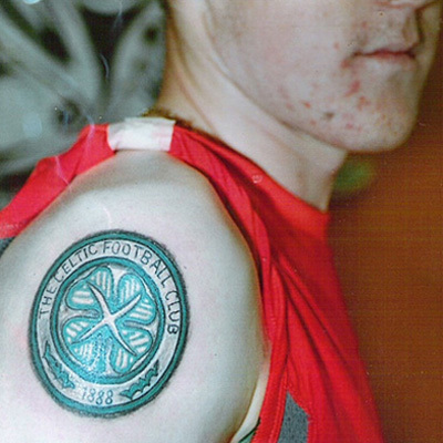 Football club tattoos