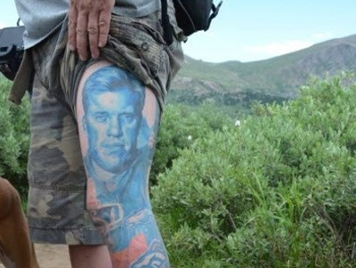 Football player tattoos