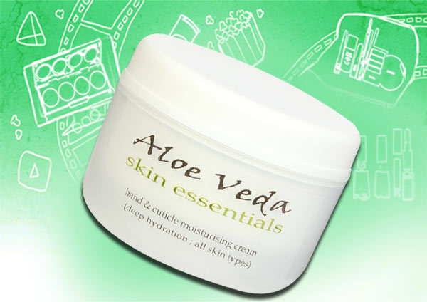 Hand and Cuticle Moisturising Cream by Aloe Veda