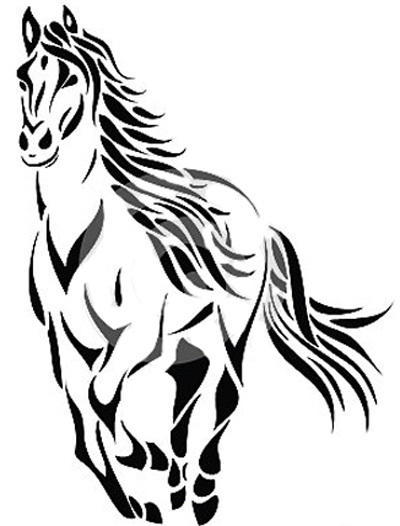 best horse tattoos our top 10 rh stylecraze com seahorse tattoo outline horse head outline tattoo