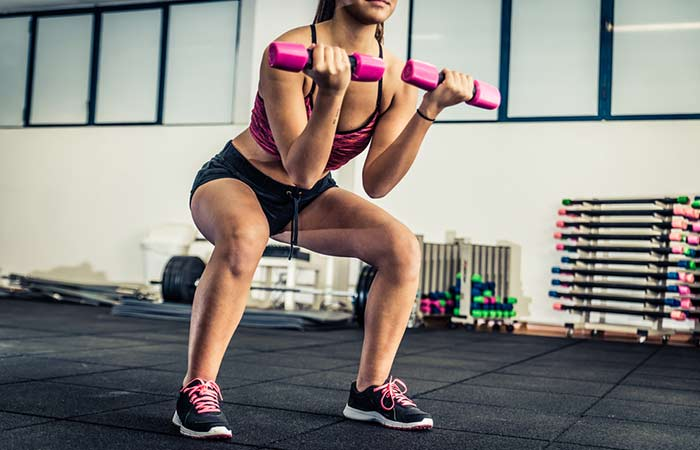 Exercises For Slim Thighs - Squat