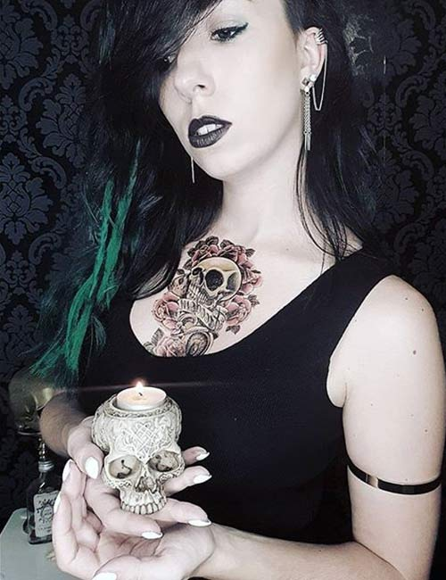 Intriguing Skull Tattoos