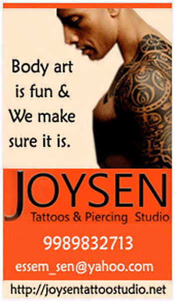 Joysen tattoo and piercing studio