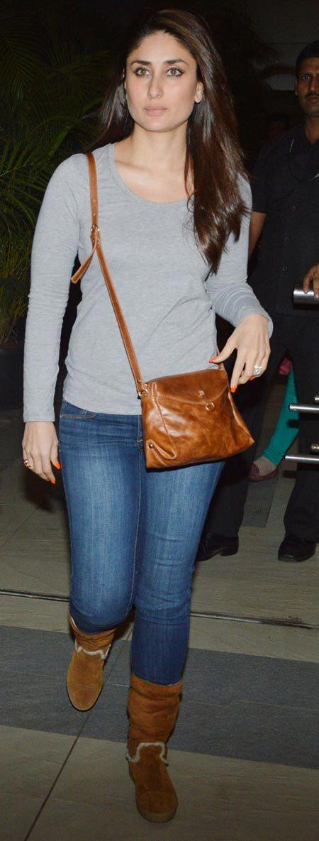 Kareena Kapoor Mumbai airport