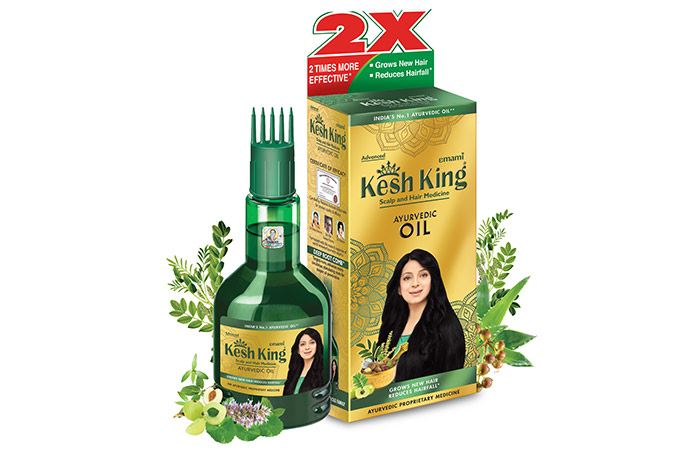Kesh King Scalp And Hair Medicine Ayurvedic Oil