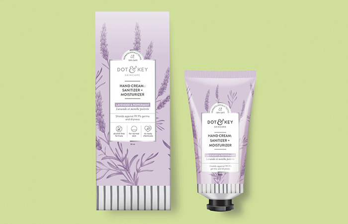Key Hand Cream Sanitizer + Moisturizer - Hand Creams