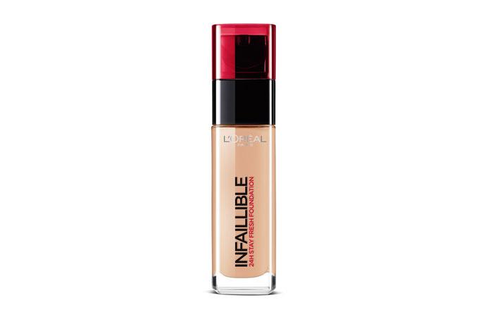 L'Oreal Infallible makeup Foundation: