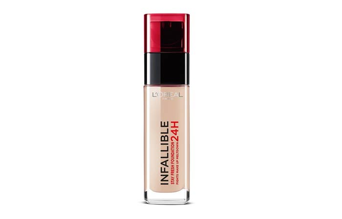 LOreal Paris Infallible 24H Liquid Foundation