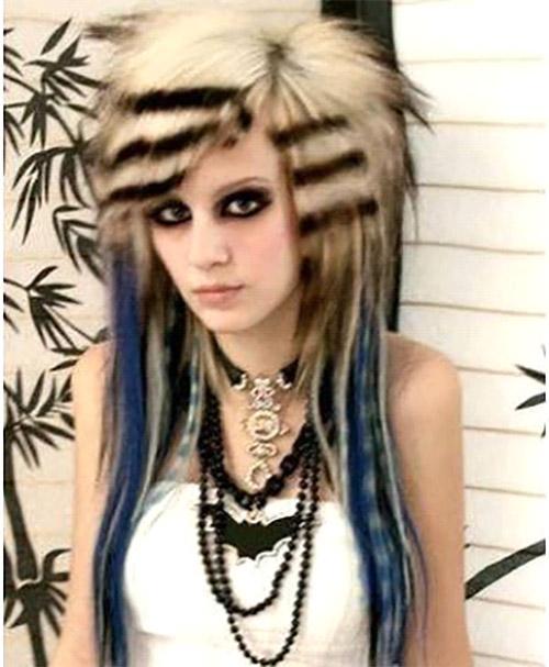 Astounding Top 50 Emo Hairstyles For Girls Short Hairstyles Gunalazisus