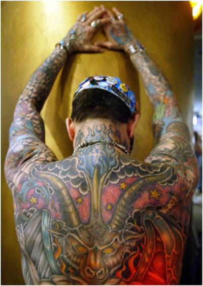 Lloyd tattoos and piercing
