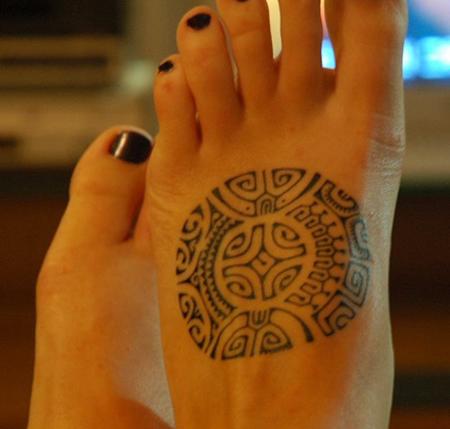 Marquesas Cross Maori Tattoo