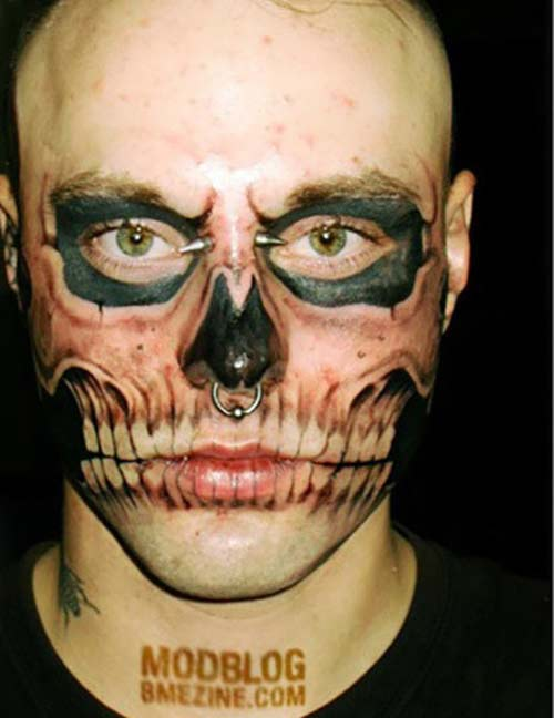 Skeleton-face-tattoo10