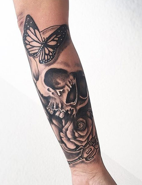 Skull Tattoos For Women 26 Best Skull Tattoos With Meanings