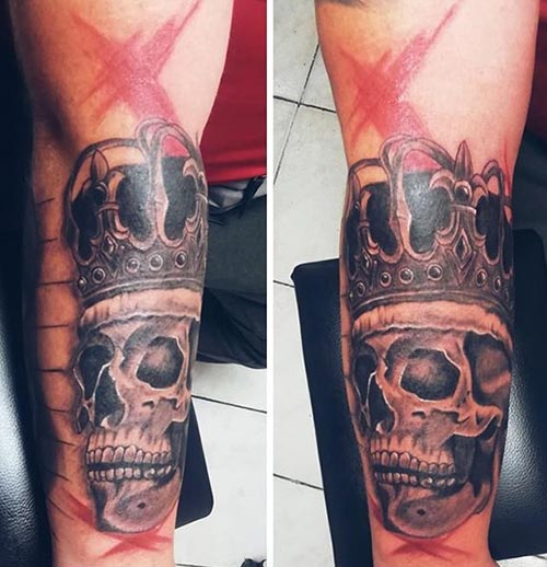 Skull Tattoos for Couples