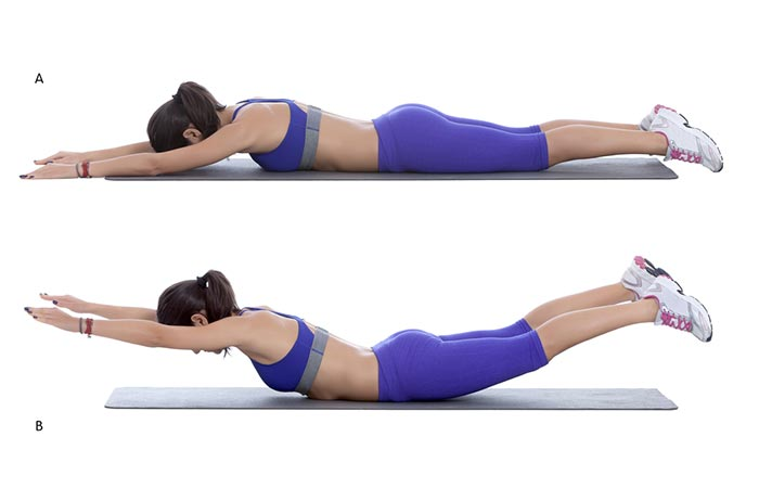 Stretching And Exercise - Superwoman