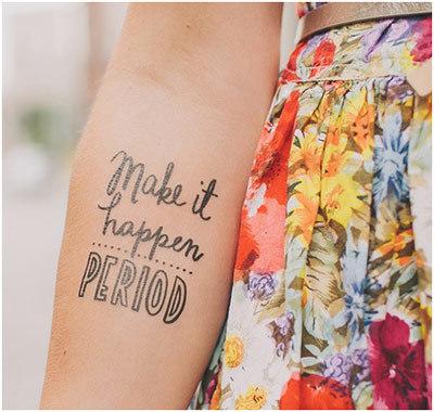 Text Tattoo Designs