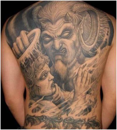 The Combat Devil Tattoo