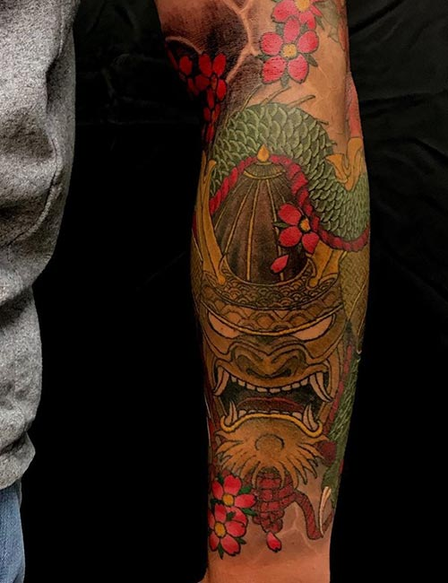 The Golden Dragon Tattoo