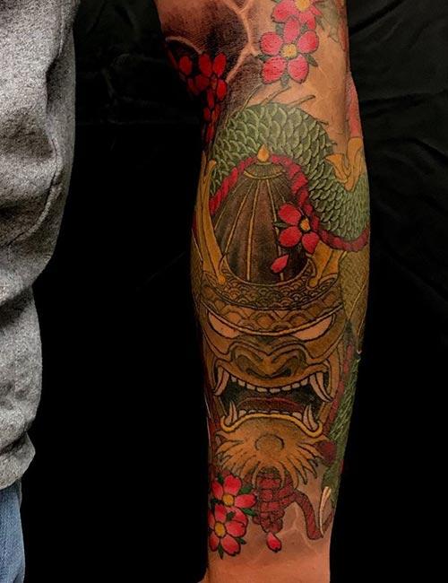 The Golden Dragon Tattoo