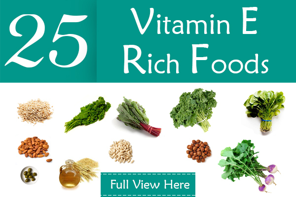 Top 24 Vitamin E Rich Foods You Should Include In Your Diet_1