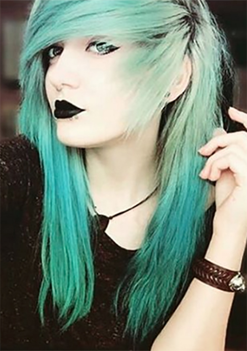 Swell Top 50 Emo Hairstyles For Girls Hairstyles For Men Maxibearus