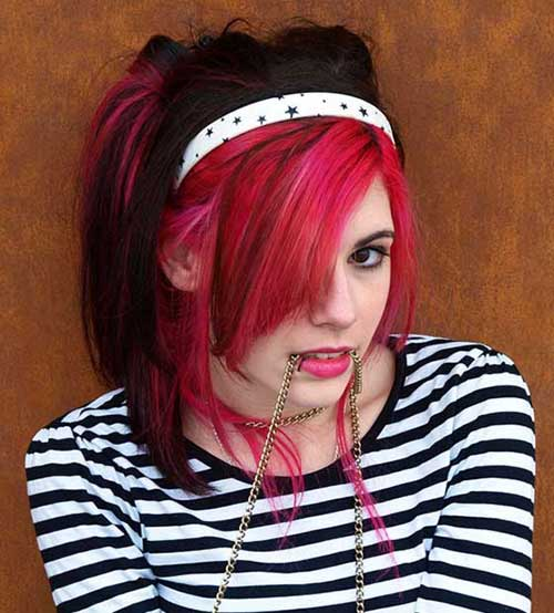 Top-50-Emo-Hairstyles-For-Girls23
