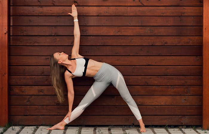 Trikonasana (Triangle Pose)