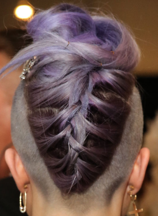 Upside-Down-Triangular-Purple-Braid-with-Folded-Ends