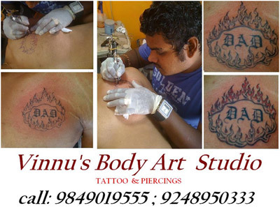 Vinnus body art studio tattoos