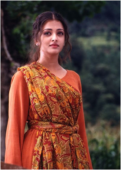 Aishwarya Rai Without Makeup in Taal Movie